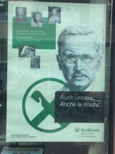 Postercampagne in Merano, Italie